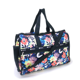 [LeSportsac]ボストンバッグ DELUXE LG WEEKENDER 花柄