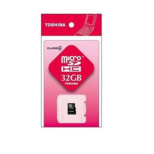 【32GB】東芝 microSDHCメモリカード