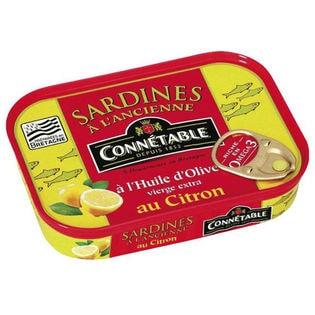 【2缶】コネタブル オリーブオイルサーディン レモン風味 115g