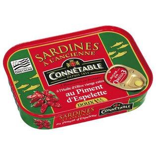 【2缶】コネタブル オリーブオイルサーディン チリ風味 115g