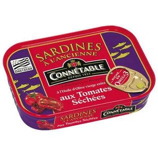 【2缶】コネタブル オリーブオイルサーディン サンドライドトマト風味 115g