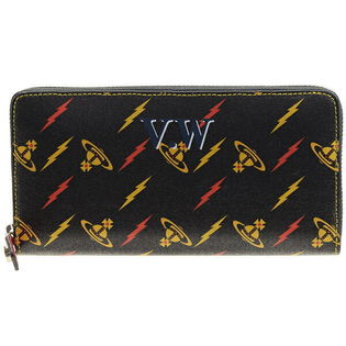 ヴィヴィアンウエストウッド 長財布 51050022 色:BLACK/RED