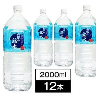 【2000ml×12本】島根県金城の里で数百年の歳月をかけてろ過された純天然アルカリイオン水