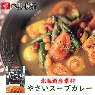 【計400g(200g×2)】北海道産素材 やさいスープカレー  ベル食品 北海道 お土産