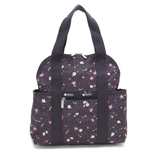 [LeSportsac]リュック DOUBLE TROUBLE BACKPACK(ブラック)