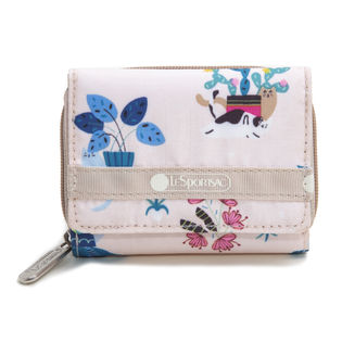 [LeSportsac]三つ折り財布 REESE WALLET ライトピンク