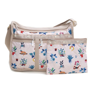 [LeSportsac]ショルダーバッグ DELUXE EVERYDAY BAG ライトピンク