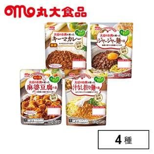 【4種/計10袋】丸大食品 大豆バラエティセット