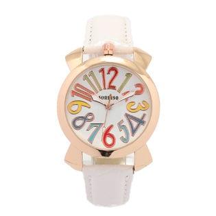 上部リューズ式 36mmミッドサイズ ユニセックス SRF9-PGWH メンズ腕時計