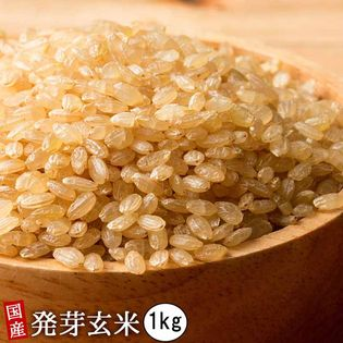 【1kg(500g×2袋)】国産発芽玄米 (雑穀米・チャック付き)