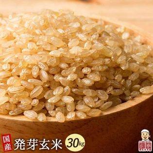 【30kg(500g×60袋)】国産発芽玄米 (雑穀米・チャック付き)