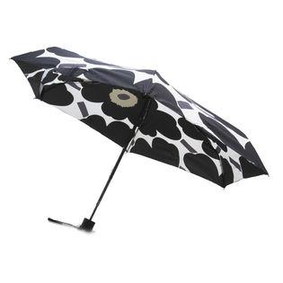 [marimekko]折り畳み傘 MINI MANUAL PIENI UNIKKO ブラック