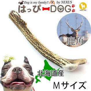 【M】鹿の角 北海道 鹿角 犬のおもちゃ 犬のおやつ おもちゃ  デンタルケア  口臭対策