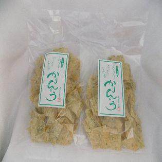 稲庭うどんの郷で作った「かりんとう」磯乃のり平様(磯のり塩風味)×2袋