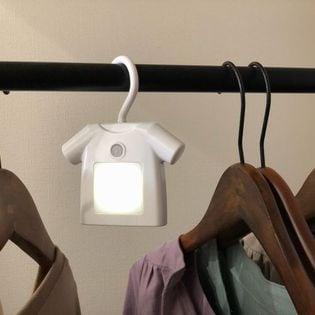 【ホワイト】人感付きクローゼットライト T-shirt(ティーシャツ)2個セット