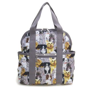 [LeSportsac]リュック DOUBLE TROUBLE BACKPACK グレー系