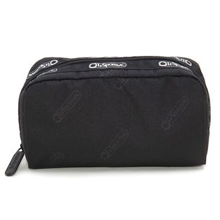 [LeSportsac]ポーチ RE-RECTANGULAR COSMETIC ブラック系