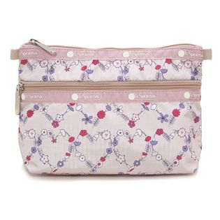 [LeSportsac]ポーチ COSMETIC CLUTCH ライトピンク系