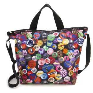 [LeSportsac×X-girl]トート DELUXE EASY CARRY TOTE ブラック