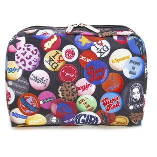 [LeSportsac×X-girl]ポーチ EXTRA LARGE COSMETIC ブラック