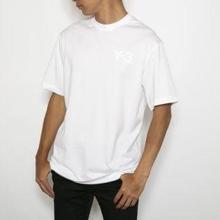 Lサイズ[adidasY-3]Tシャツ M CLAIC CHEST LOGO  TEE(ホワイト)