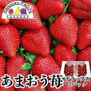 【約250g×2パック】福岡限定いちご・あまおうデラックス
