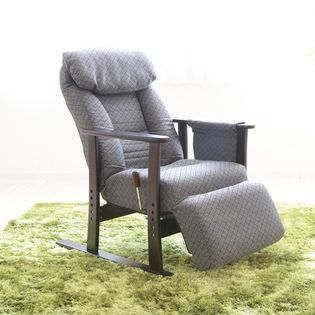 【GY】フットレスト付高座椅子【梢】