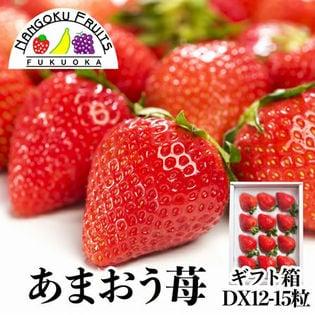 【12-15粒ギフト箱】福岡限定いちご・あまおう