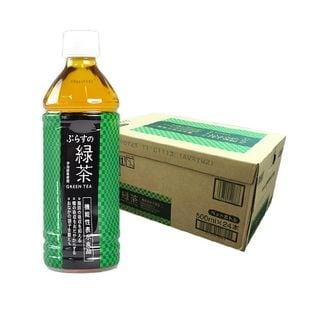 【500mlPET×24本(1ケース)】ぷらすの緑茶
