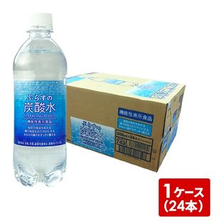 【500mlPET×24本(1ケース)】ぷらすの炭酸水
