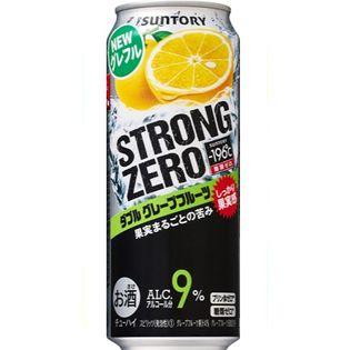【24本】サントリー -196 ストロングゼロ ダブルグレープフルーツ 500ml