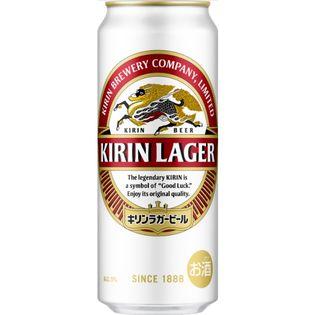 【48本】キリン ラガー 500ml