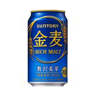 【72本】サントリー 金麦 350ml