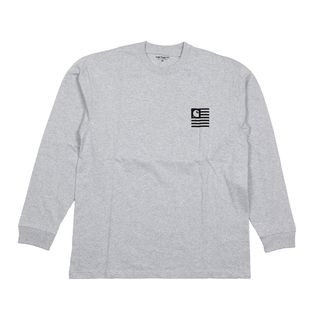 【XS/グレー】[CARHARTT] カットソー L/S STATE PATCH