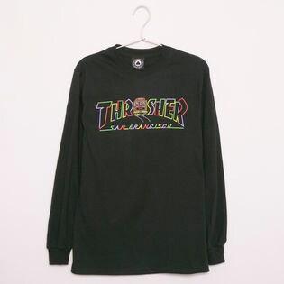 【Sサイズ/ブラック】 [THRASHER]カットソー CABLE CAR L/S