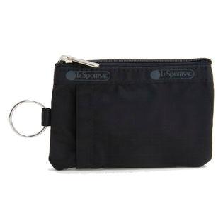 [LeSportsac]パスケース ID CARD CASE ブラック