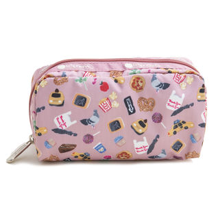 [LeSportsac]ポーチ RECTANGULAR COSMETIC ピンク系