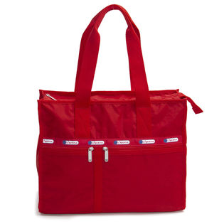 [LeSportsac]トートバッグ DELUXE E/W TOTE レッド