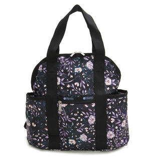 [LeSportsac]リュック DOUBLE TROUBLE BACKPACK ブラック系