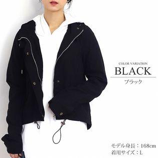 【ブラック・L】カジュアルマウンテンパーカー
