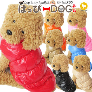 【ピンク/XL】犬 服 犬服 犬の服 ダウン 風 コート アウター