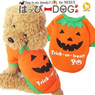 【オレンジ/L】犬 服 犬服 ドッグウェア トレーナー ハロウィン ハロウィーン