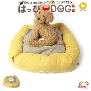 【イエロー】犬 クッション ソファ ベッド マット 猫 ペット用
