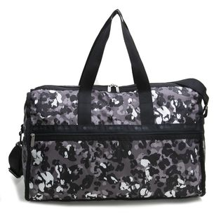 [LeSportsac]ボストンバッグ DELUXE LG WEEKENDER グレー系