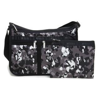[LeSportsac]ショルダーバッグ DELUXE EVERYDAY BAG グレー系