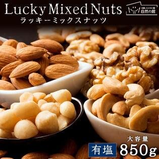 【850g】4種類配合ミックスナッツ[有塩]