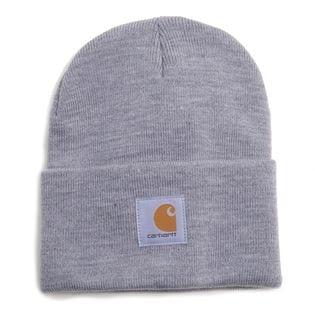 [CARHARTT]ニット帽 M ACRYLIC WATCH HAT グレー