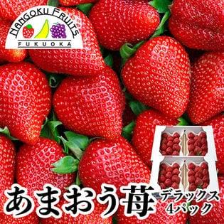 【約250g×4パック】福岡限定いちご・あまおう