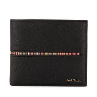 ポールスミス 二つ折り財布 M1A4833 AINMST 78 色:BLACK