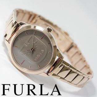 FURLA フルラ腕時計 レディース LIKE SCUD  グレージュ